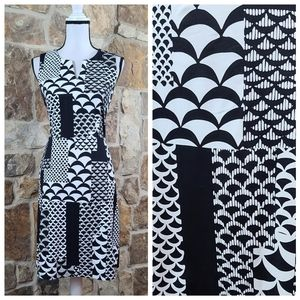 J McLaughlin S SMALL Abstract Print Dress